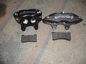 Stage II Front Wilwood Calipers