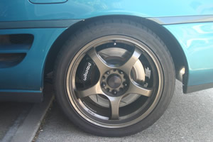 MR2 Rear Big Brake Kit